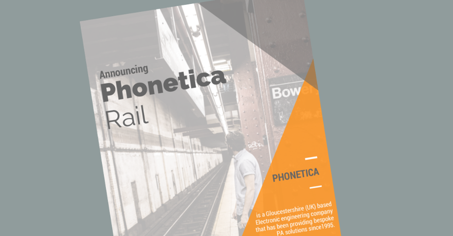 Phonetica Rail Brochure